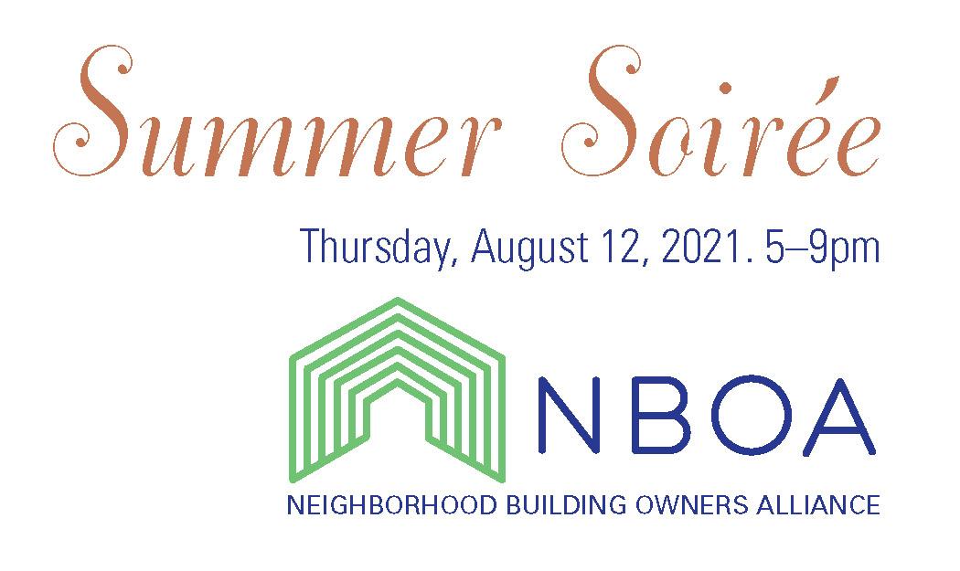 NBOA Summer Soirée: Thursday, August 12, 2021, 5-9pm